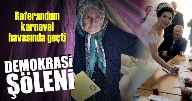 Türkiye'nin renkleri sandıkta buluştu