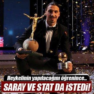 """İbrahimoviç 11. kez """"yılın futbolcusu"""""""