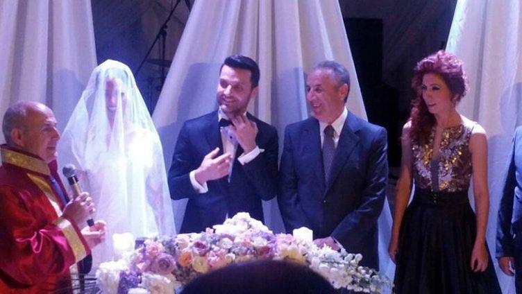 İşte Sinan Özen'in düğününden kareler