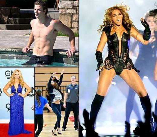 2013'ün en güzel vücutları