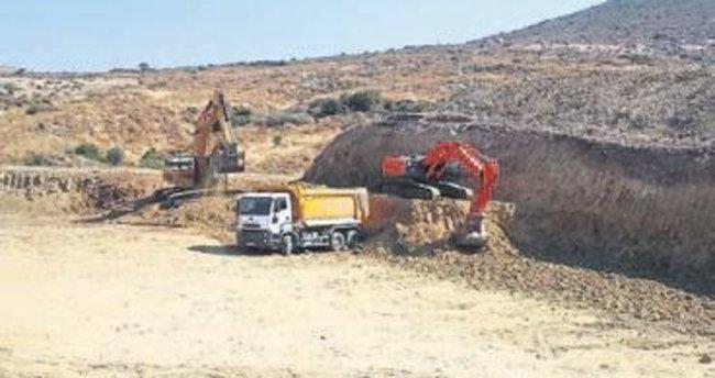 Foça'daki hastanenin inşaatı hız kazandı