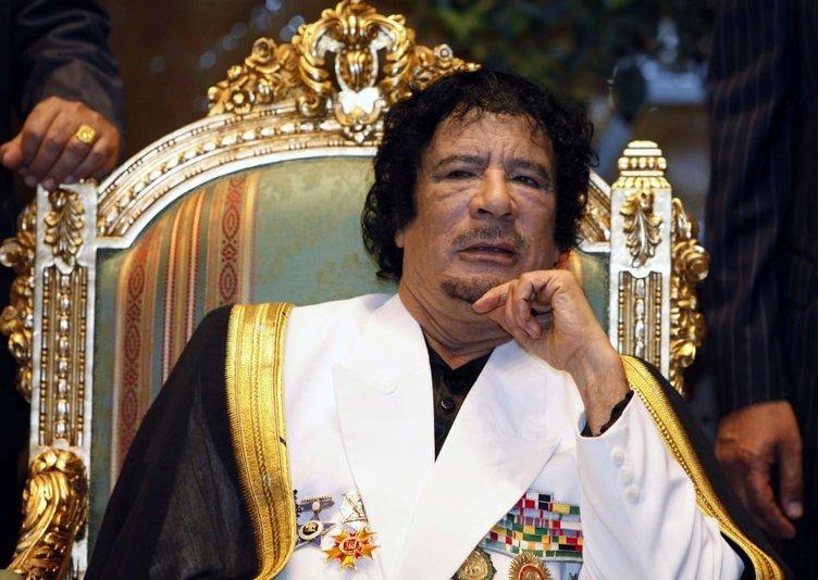 Kaddafi'nin hançeri İstanbul'da bulundu!