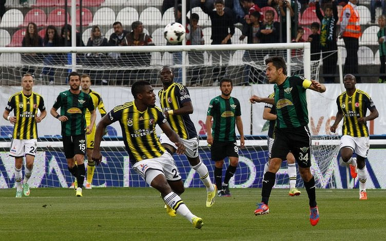 Akhisar Belediyespor - Fenerbahçe maçının fotoğrafları
