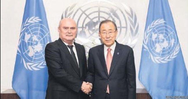 Sinirlioğlu BM'deki görevine başladı