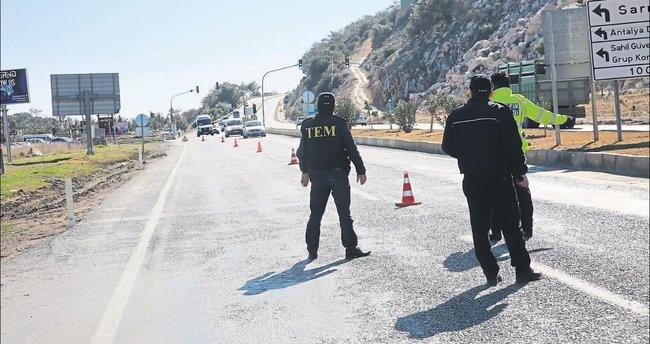 Antalya'ya gelen suçlu kaçamıyor