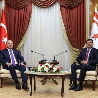 KKTC Başbakanı Özgürgün Çavuşoğlu'nu kabul etti