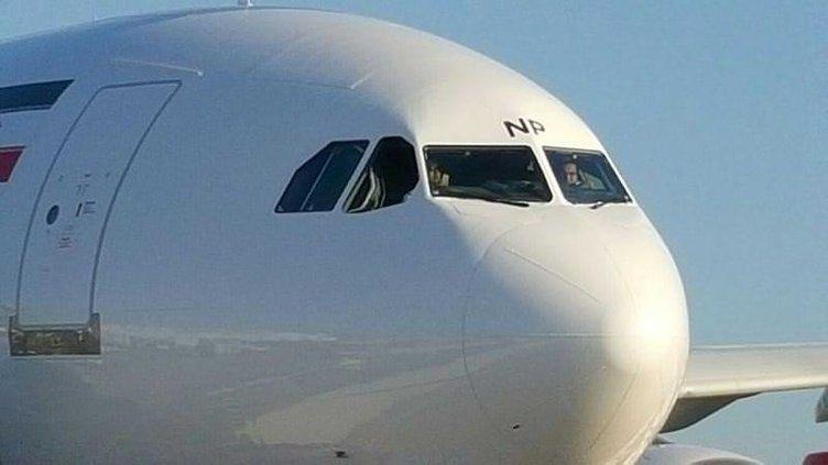 Atatürk Havalimanı'nda İran uçağı paniği