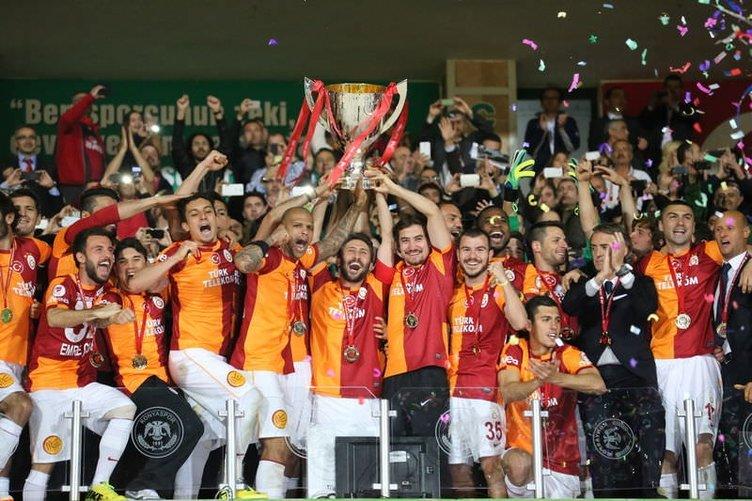 Galatasaray'ın Türkiye Kupası'nı kazanması sosyal medyayı salladı