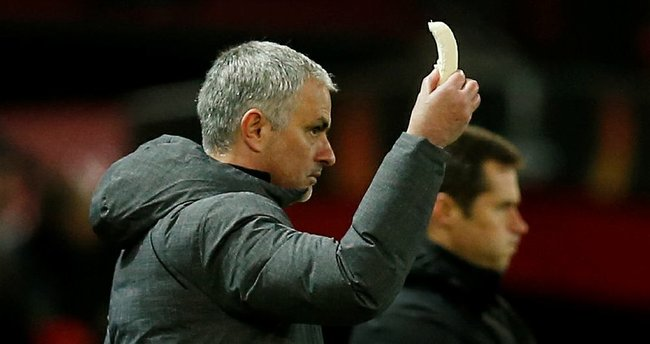 Mourinho'dan oyuncusuna muz takviyesi