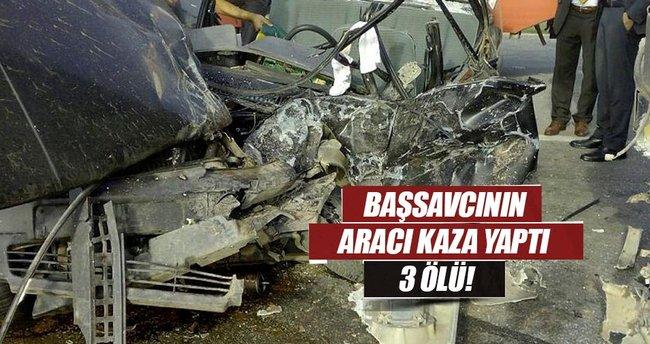 TIR, otomobili ezdi: 2'si kadın 3 kişi öldü