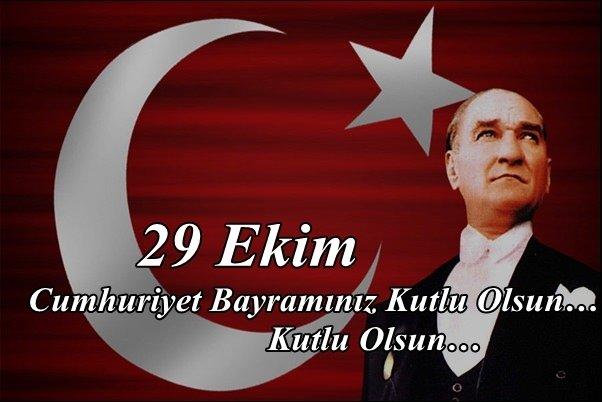 En güzel 29 Ekim resimli mesajları (Cumhuriyet Bayramı)