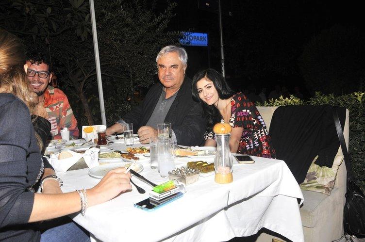 Halil Ergün ve Deniz Çakır'ın keyifli gecesi olaylı bitti