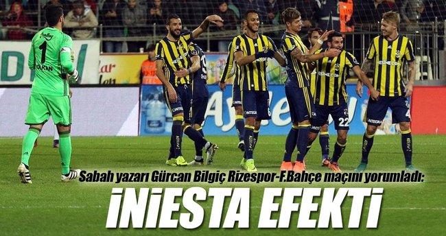 Sabah yazarı Gürcan Bilgiç Rizespor - Fenerbahçe maçını yorumladı