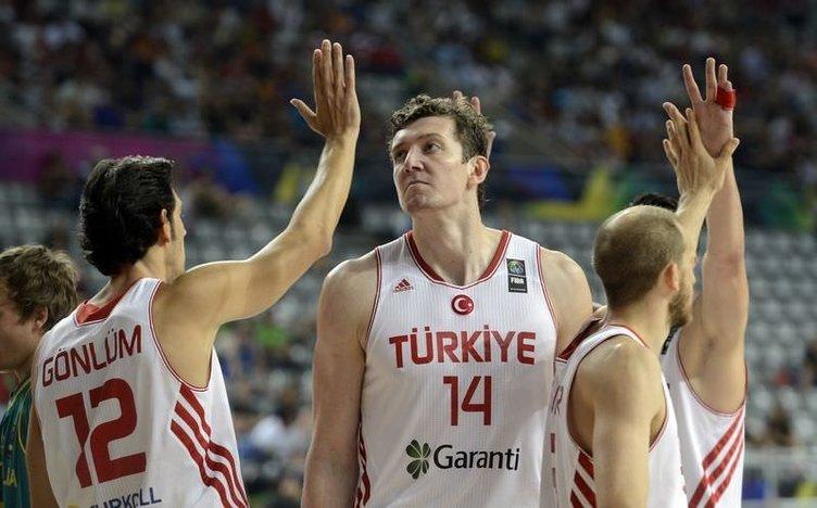 Türkiye - Avustralya maçının fotoğrafları