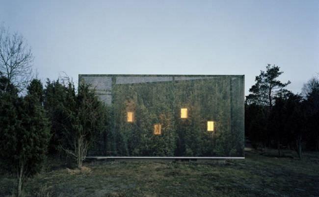 Doğayla en iç içe olan evler