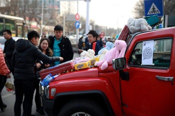 Çin'in sokak satıcıları
