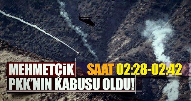 PKK'ya ait hedefler hava harekatıyla imha edildi