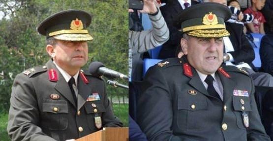 TSK'dan ihraç edilen generaller