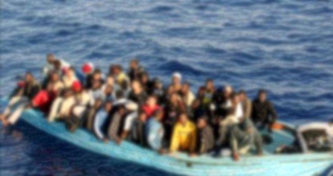 Didim'de göçmenleri taşıyan teknede facia!