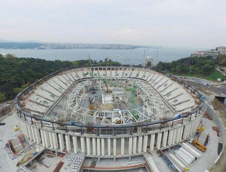 Vodafone Arena'da önemli gelişme