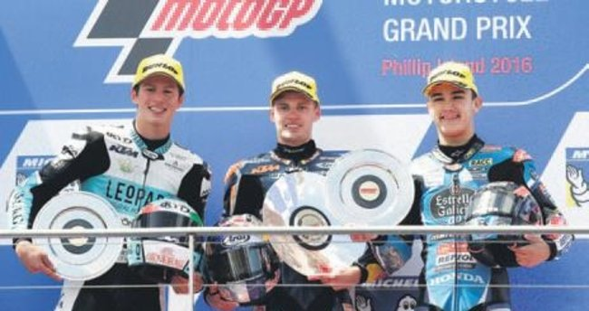 Moto GP'de Avustralya yarışı Crutchlow'un
