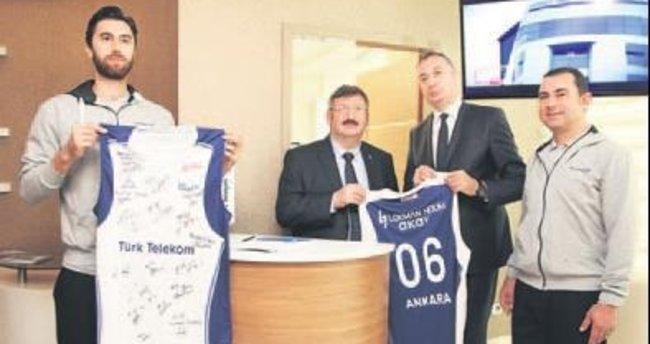 Türk Telekom'un yeni sponsoru Lokman Hekim