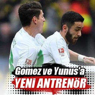 Gomez ve Yunus'a yeni antrenör
