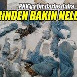 Şemdinli'de terör örgütü PKK'ya ait silah ve mühimmat ele geçirildi!
