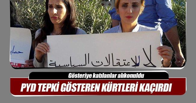 PYD, kendisine tepki gösteren Kürtler'i kaçırdı