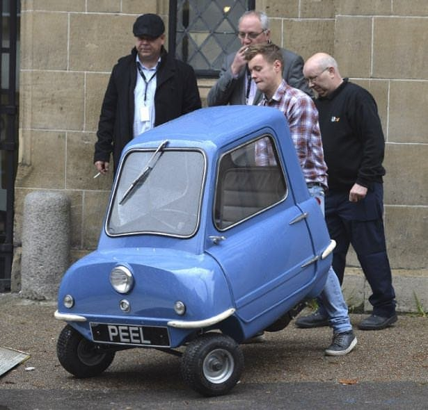 Dünyanın en küçük arabası Peel P50