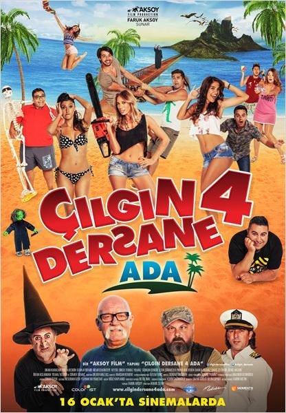 Çılgın Dersane 4: Ada filminden kareler