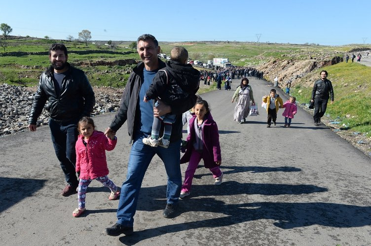 İdil'de evini terk edenler geri dönmeye başladı!