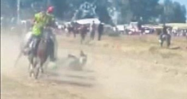 Rahvan yarışında ölüm kamerada