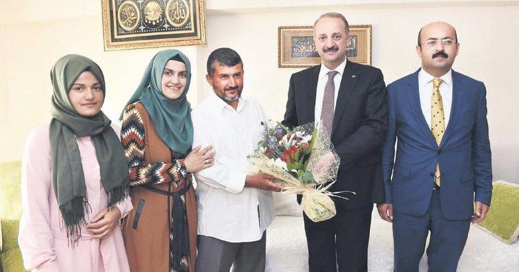 Gazi'nin hayali Erdoğan'ı görmek