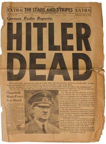 Hitler nasıl öldü?