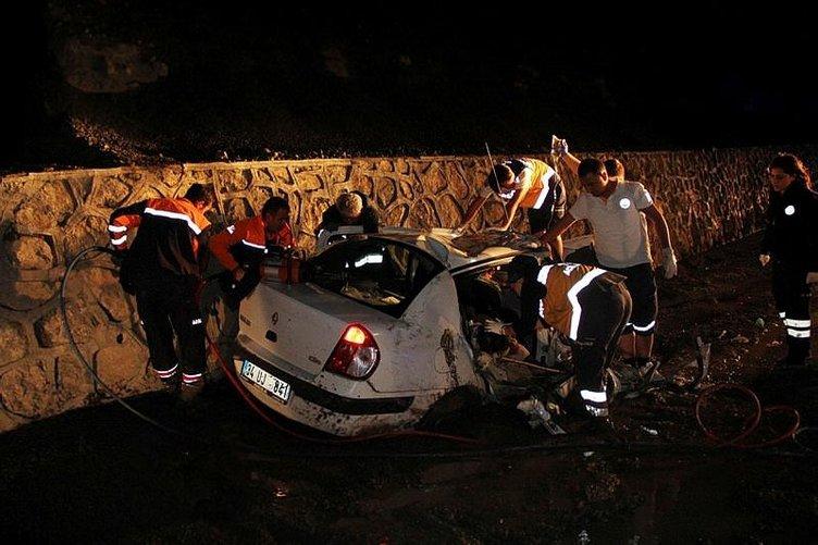 Erzincan'da katliam gibi kaza : 5 ölü 2 yaralı