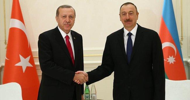 Aliyev ve Maduro zirve için İstanbul'da