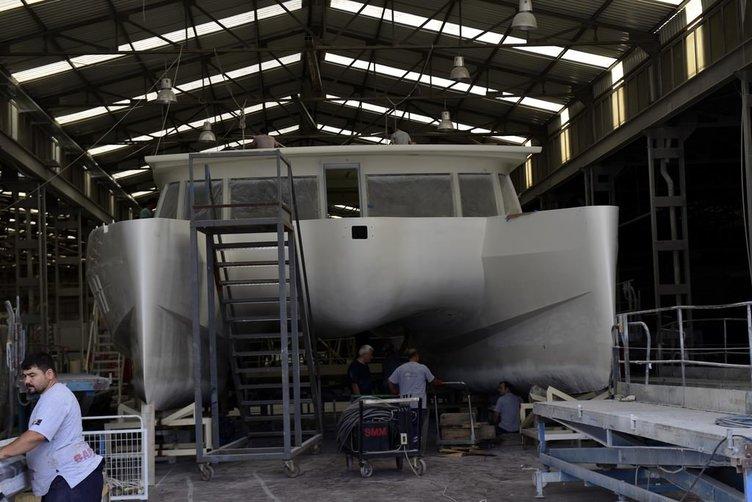 Türkiye'de güneş enerjisiyle çalışan yat üretildi