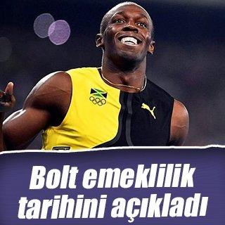 Bolt için 2017'den ötesi yok