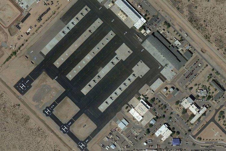 Dünyanın en büyük uçak mezarlığı