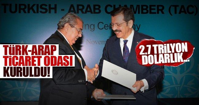 Türk-Arap Ticaret Odası kuruldu!