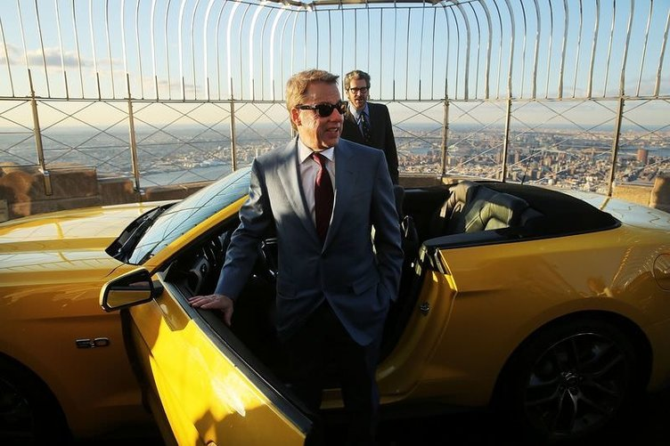 Yeni Ford Mustang, Empire State'e çıktı