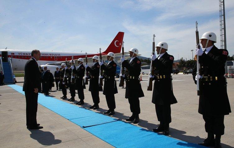 Erdoğan ve dünya liderleri Çanakkale'de