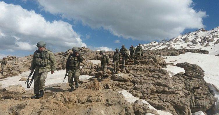 Kato Dağı'na hava harekatı; 7 PKK'lı öldürüldü