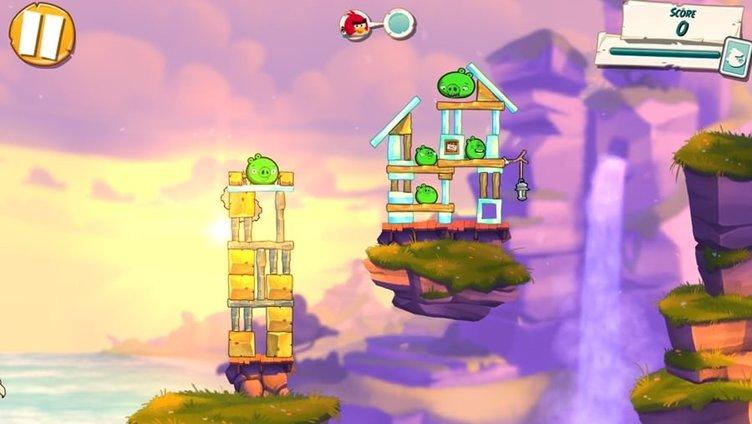 Angry Birds'den yeni oyun