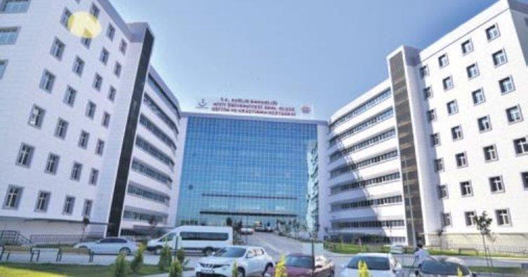 Şehit Olçok Hastanesi ilk hastasını kabul etti