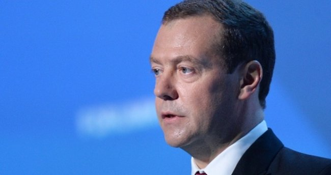 Rusya Başbakanı Medvedev'in katıldığı forumda patlama