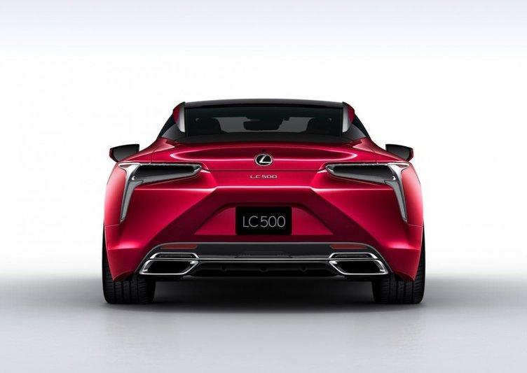 BMW 6'ya yeni rakip: Lexus LC 500 2017