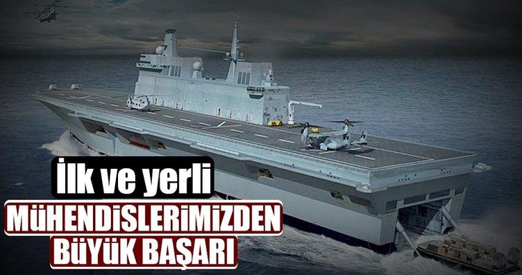 İlk yerli denizaltı savunma harbi sonarı duyuruldu