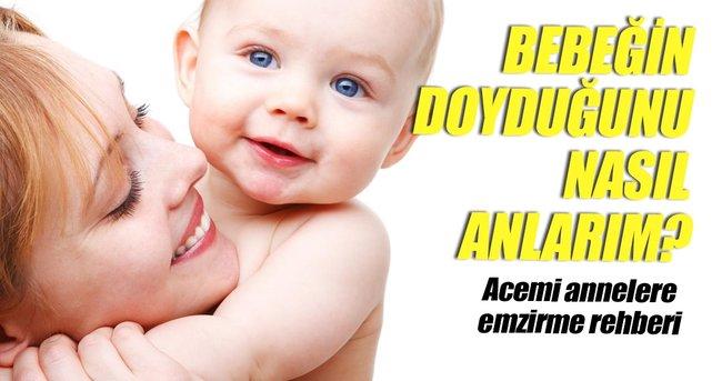 ACEMİ ANNELERE EMZİRME REHBERİ